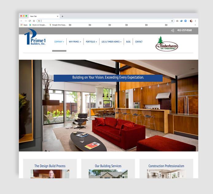 Homebuilder's Mobile Web Design