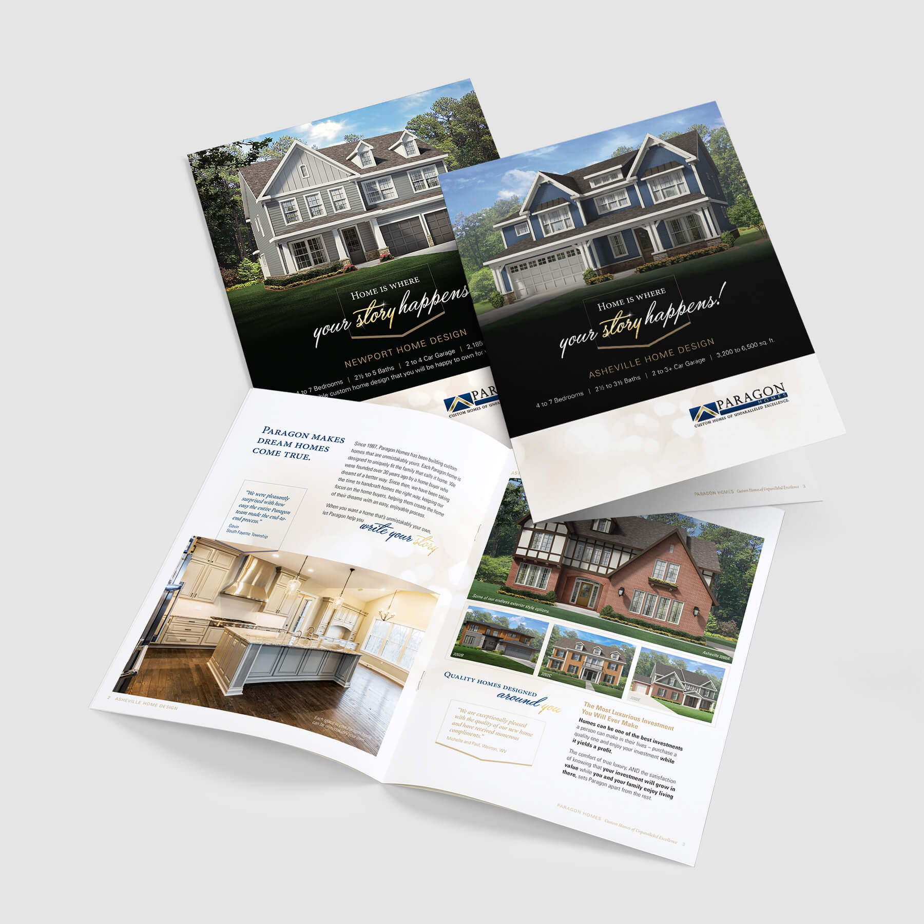 brochure designs for home builders