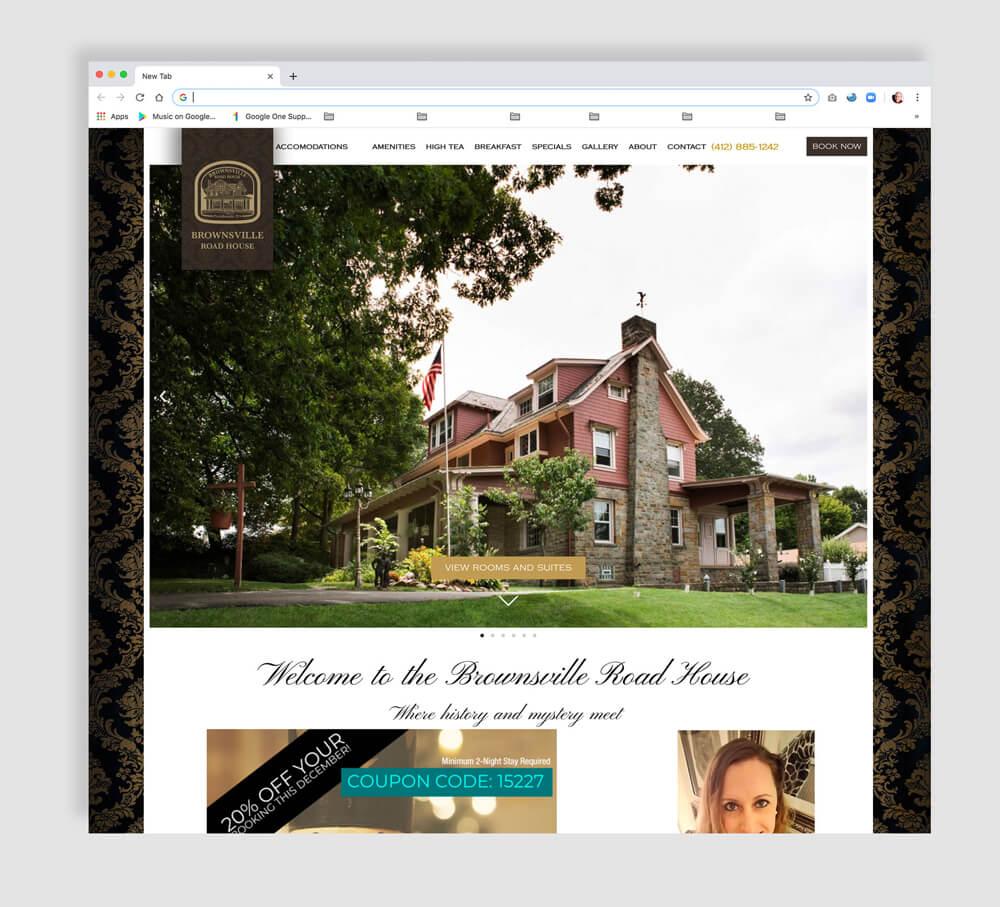 Bed & Breakfast Website Development