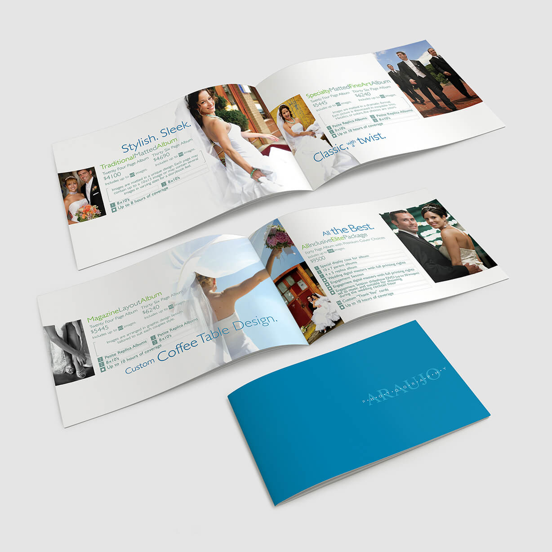 Wedding Photographer's brochure and Price list
