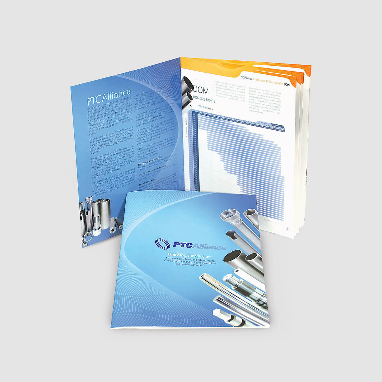 Steel manufacturer catalog of specifications