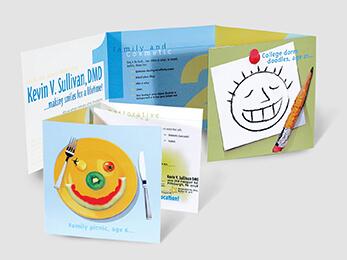 Dental Brochure Design Example
