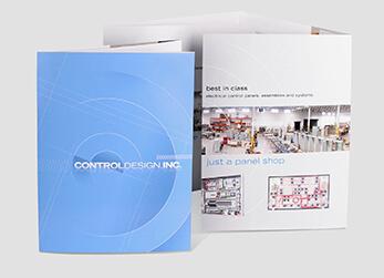 Industrial Controls Manufacturer 8-Panel Brochure Design