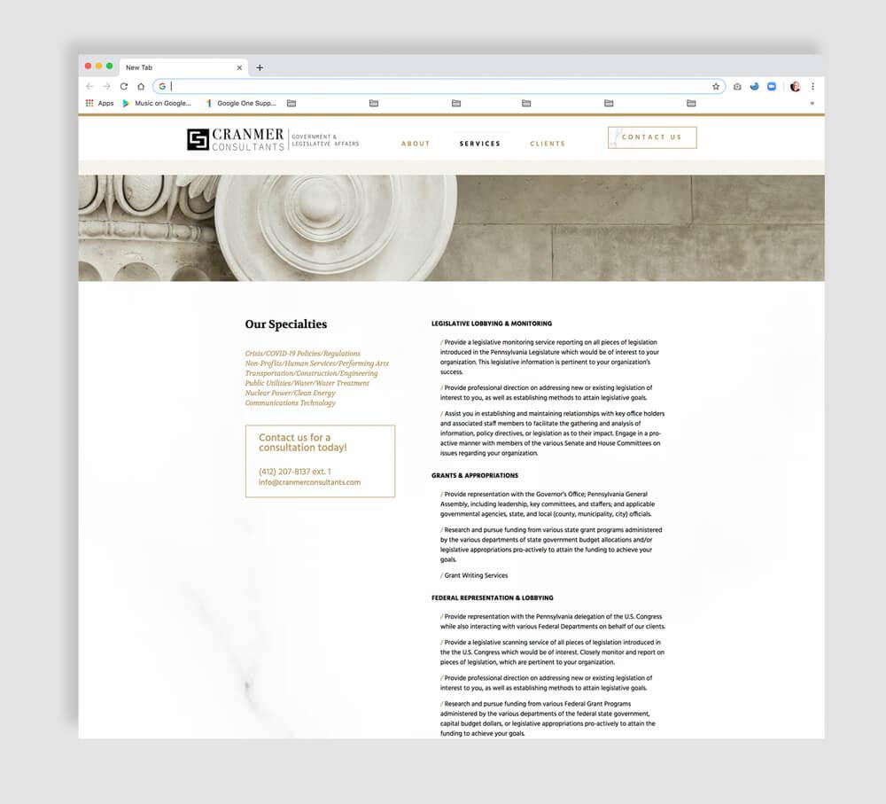 Legislative Lobbying & Monitoring Web Site
