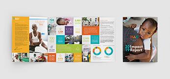 Impact Report Brochure Design for Nonprofit