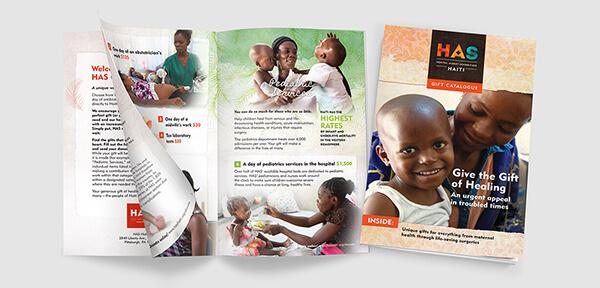 nonprofit hospital catalog design