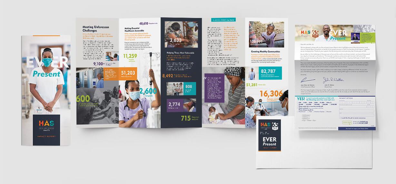 Annual Report - Impact Report design for nonprofit hospital