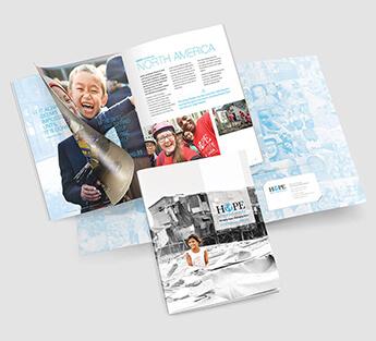 Hope Worldwide Annual Report Design Sample