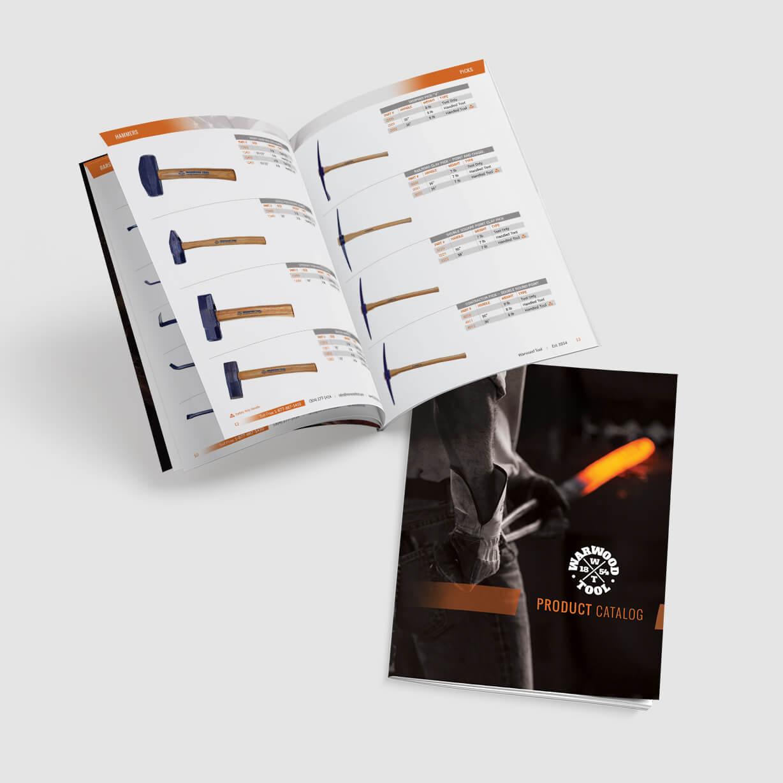 Warwood Tool Industrial Catalog Design